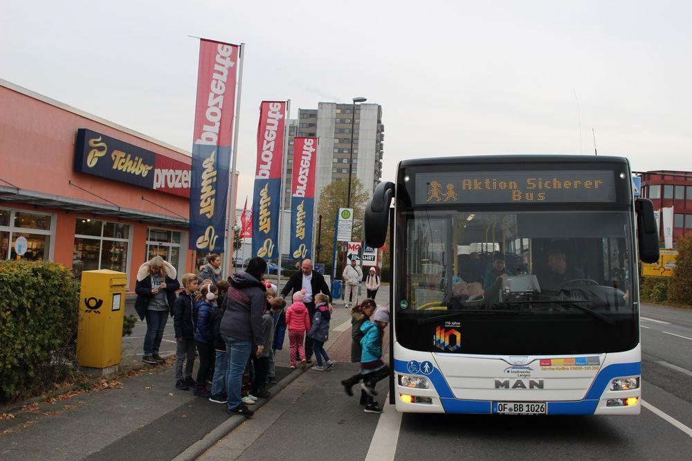 Welches verhalten ist richtig bus